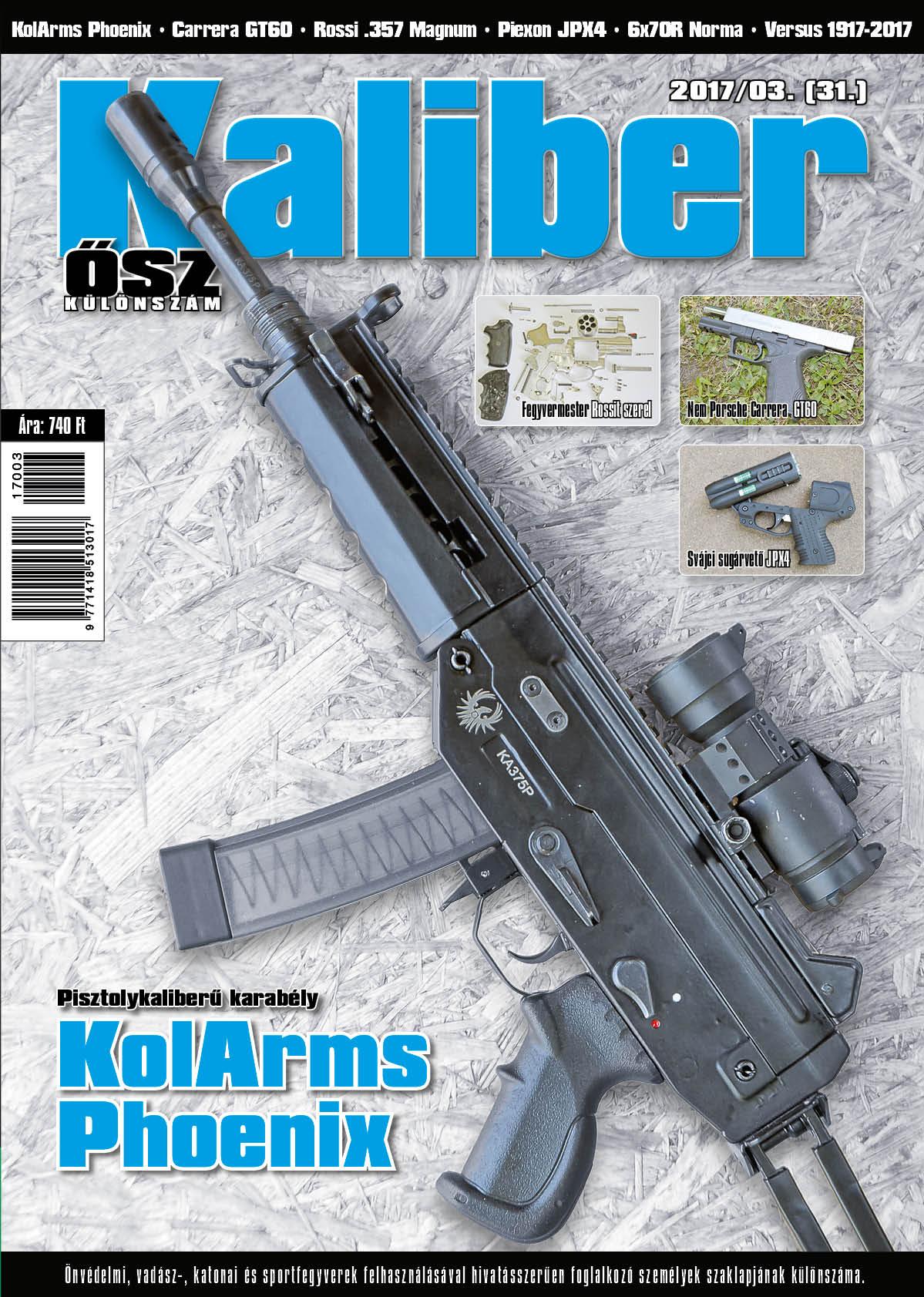 Kaliber Különszám 2017 Ősz (31.)