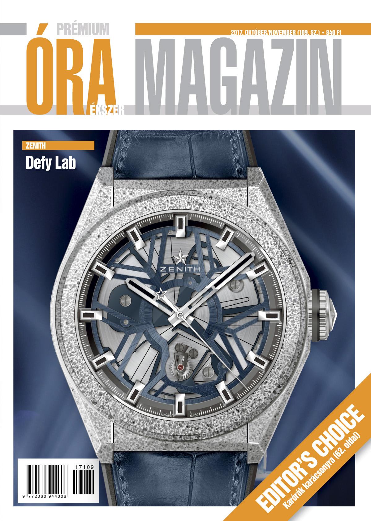 Prémium Óra Ékszer Magazin 109 (2017. október/november)