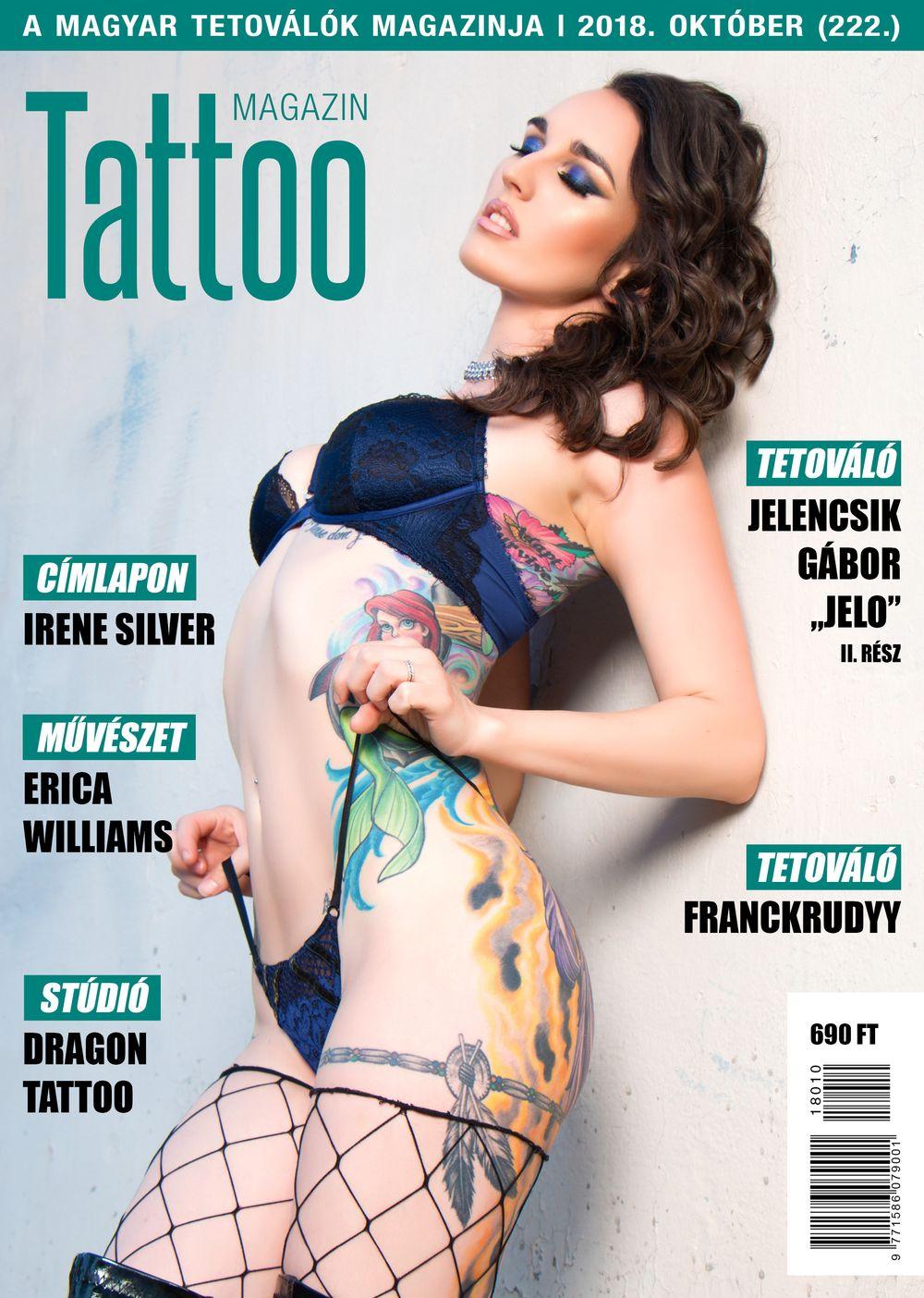 Tattoo Magazin 222. 2018. október
