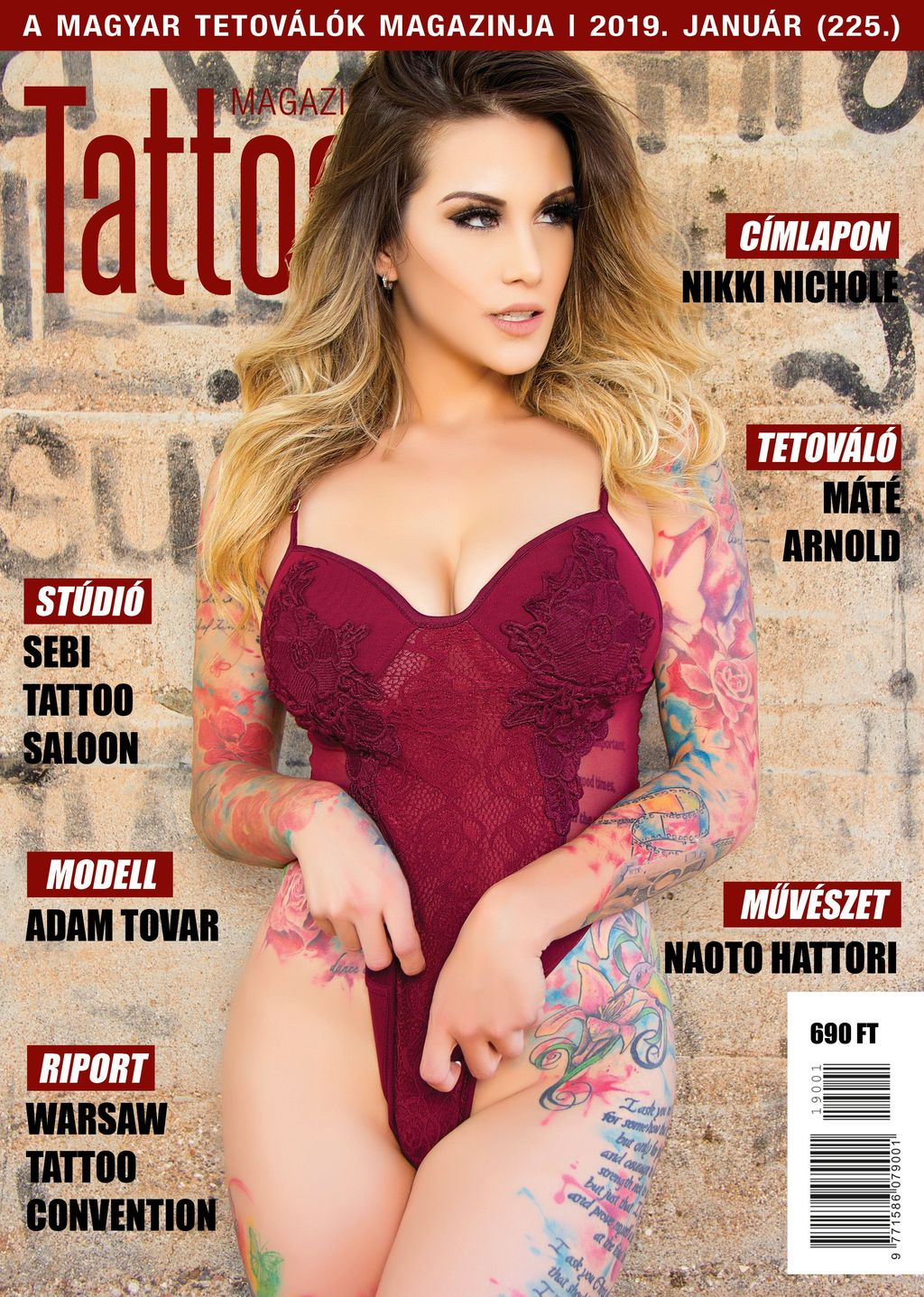 Tattoo Magazin 2019. január (225.)