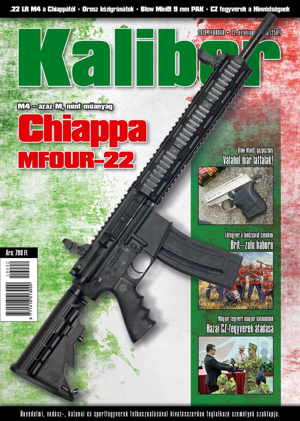 Kaliber Magazin 2019 február (250.)