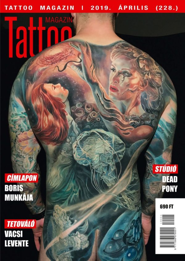 Tattoo Magazin 2019 április (228.)