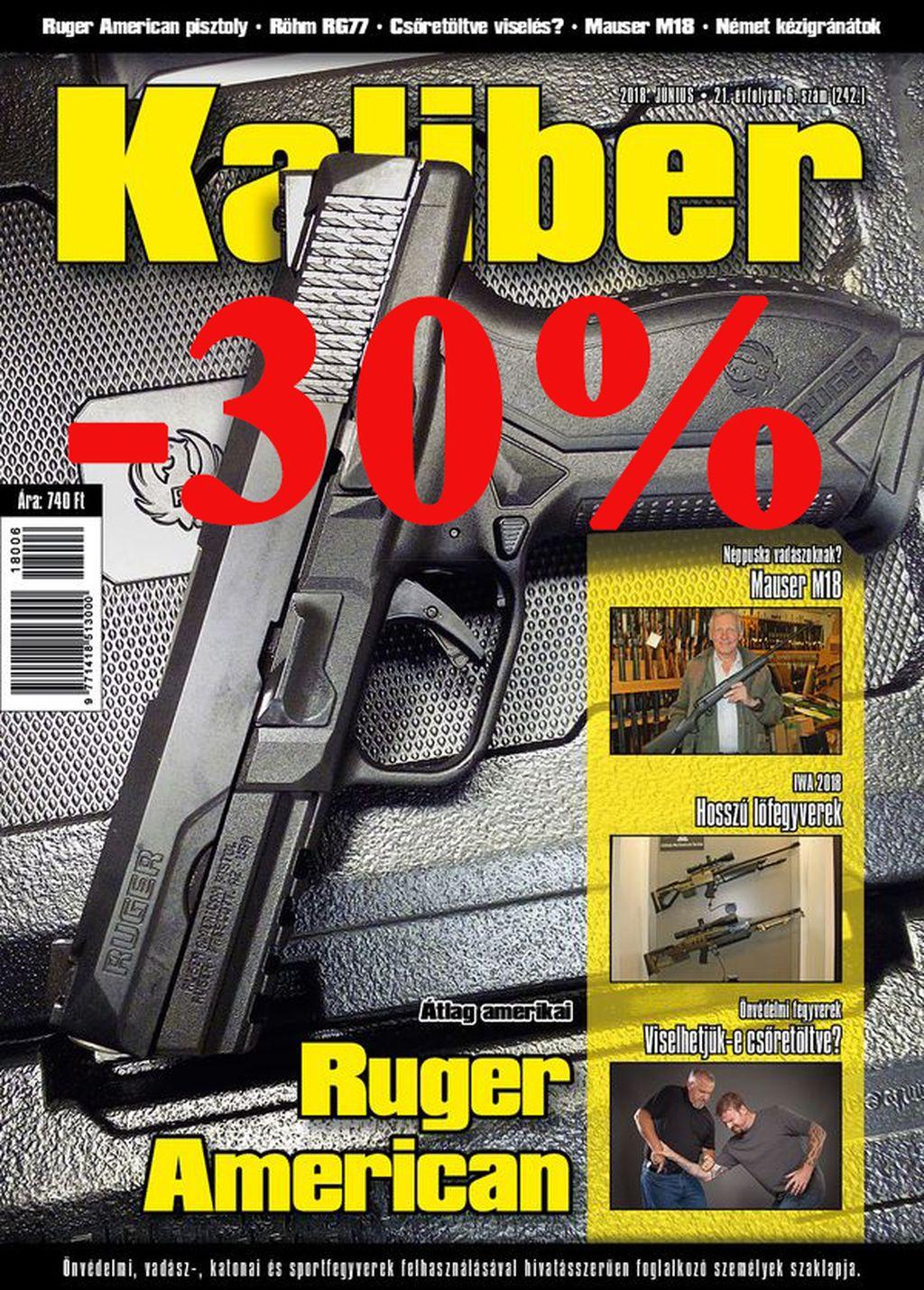 Kaliber Magazin előfizetés
