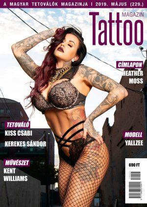 Tattoo Magazin 2019 május (229.)